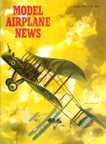 Model Airplane News Cover for March, 1964 by Jo Kotula RAF FE2B and FE2D