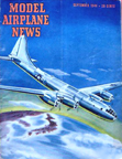 Model Airplane News Cover for September, 1944 by Jo Kotula Boeing B-29 Superfortress