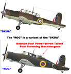 The Blackburn Roc and Skua Compared