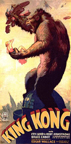Poster for King Kong 1932 Film