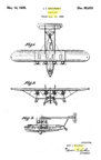 Igor Sikorsky patent for the S-40 No. D-95619