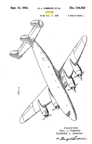 Lockheed Model 49 Constellation Design Patent D-136,352