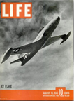 P80 Shooting Star on the cover of LIFE Magazine August 13, 1945