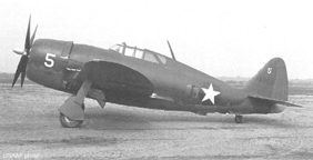 The Republic XP-47B