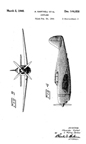 The Republic XP-47B Design Patent D-144,058