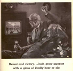 Vintage Television Advertisement Miller beer LIFE Magazine October 6, 1941