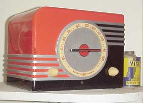 Front of GE F-40 Radio