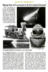 K4 Headlight the July, 1938 issue of Popular Mechanics
