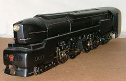 My Model of the T-1 Locomotive