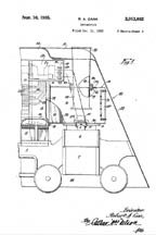 Carr Locomotive Patent 2013682
