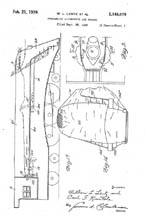 Patent Diagram for the Commodore Vanderbilt 2148078