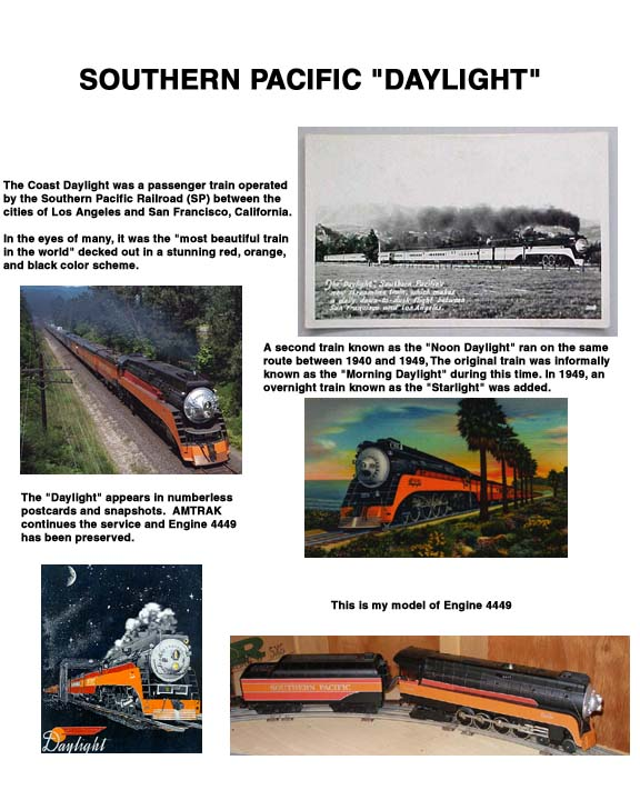 Writeup of the SP Daylight Train