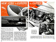 New York to Europe by Clipper