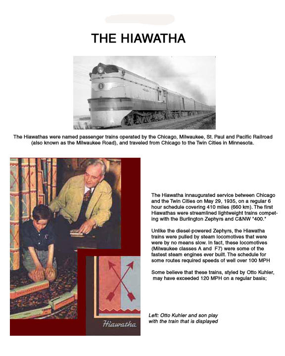 The Otto Kuhler Hiawatha