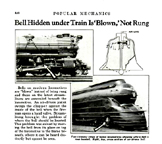 K-4 Bell the December, 1936 issue of Popular Mechanics
