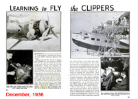 Learning to Fly the Clippers