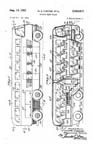 Raymond Loewy Greyhound Bus Design patent 2,563,917