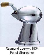 Raymond Loewy Pencil Sharpener
