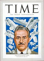 Raymond Loewy on the cover of TIME Magazine