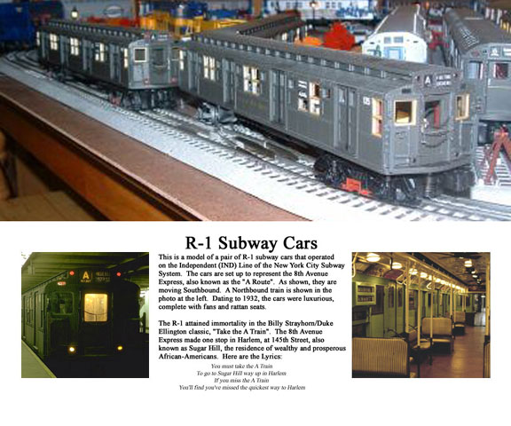 R-1 Subway cars