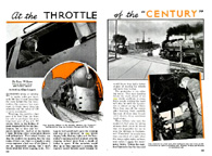 Article called At the Throttle of the Century which appeared in the May, 1939 issue of Popular Mechanics