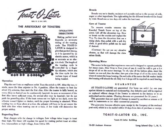 Toast-O-Lator Instructions-1