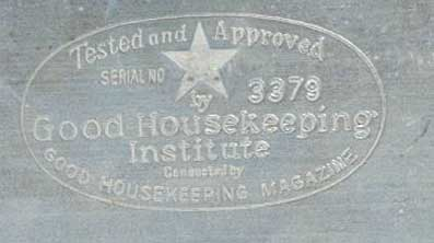 Toast-O-Lator Good Housekeeping seal