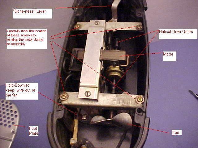 view of the motor