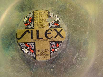 Ribbed Silex Brewer -Label
