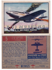 Card 005 of the Wings Friend or Foe series  The North American P-51 Mustang